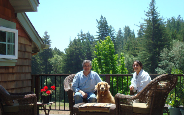 Sonoma County Architect Doug Murray - Sebastopol House, with Owners